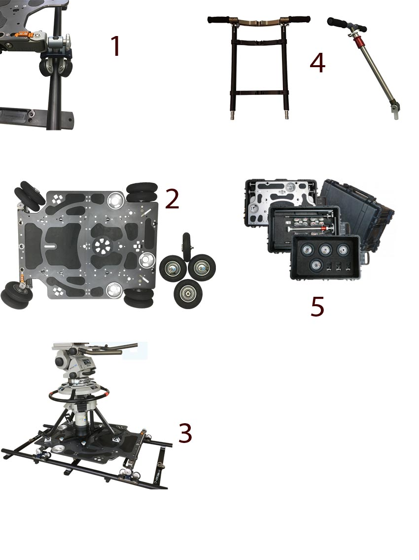 Camera Dolly News: The New Prosup LapTop Dolly