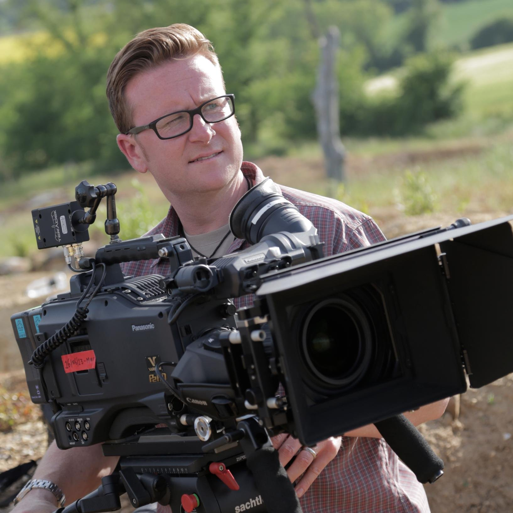 Camera Track - Camera Prosup Tango Roller in Action by cameraman Jamie Hobbis