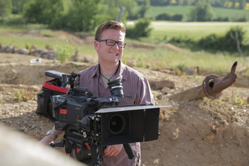 Camera Track - Camera Prosup Tango Roller in Action by cameraman Jamie Hobbis