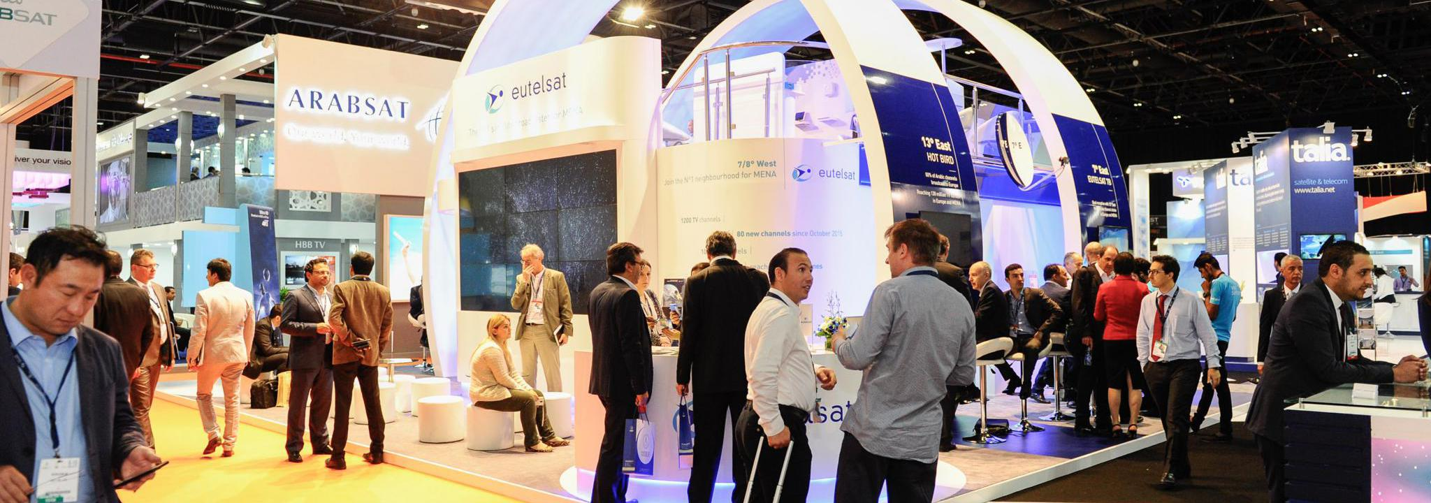 Cabsat Dubai Broadcasting Exhibition