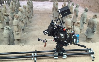 Camera Slider Prosup Tango Roller With Terracota Army - Duane McCulie