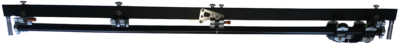 Camera track - underslung track (2,20m track length) Tango Beam
