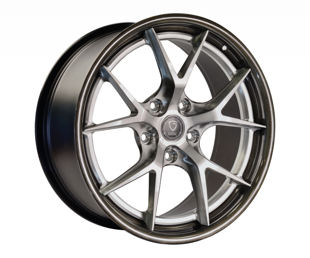 Geric carbon fibre wheels